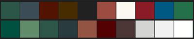 Farbvarianten Fassadenprofile