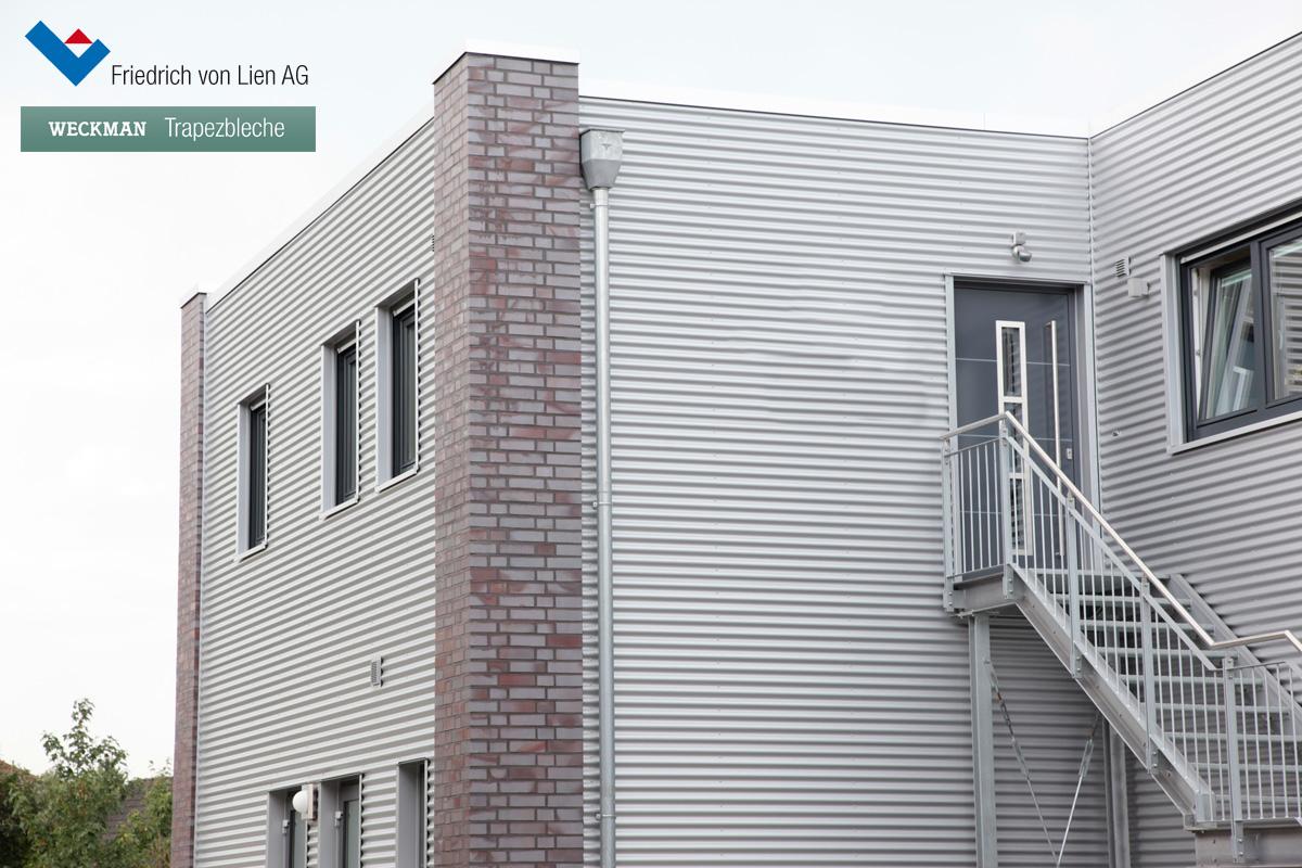 Trapezprofile für Bedachung und Fassadenverkleidung